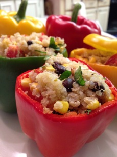 quinoa stuffed bell peppers 4