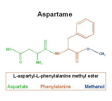 AspartameStructure